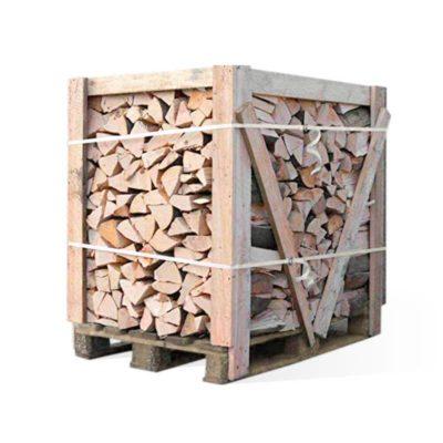 Drewno kominkowe liściaste na palecie